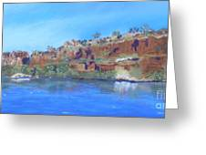 Ord River Afteroon Cruise Greeting Card