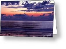 Oregon - Lincoln City Sunset Greeting Card by Terry Elniski