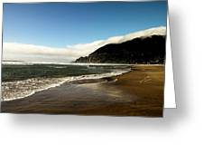 Oregon Beach Greeting Card