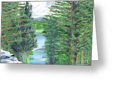 Oregon Reverie Greeting Card
