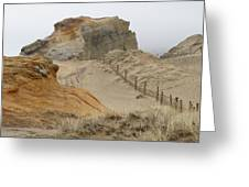 Oregon Sand Dunes Greeting Card