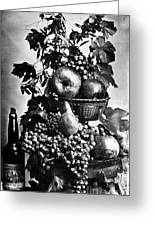 Oregon: Wine & Grapes Greeting Card