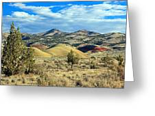 Oregons Painted Hills Greeting Card