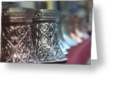 Oriental Coffee Pot Greeting Card
