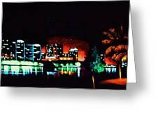 Orlando In Black Light Greeting Card