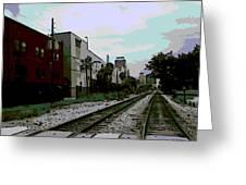 Orlando Tracks Greeting Card