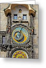 Orloj - Prague Astronomical Clock Greeting Card