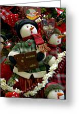Ornament 114 Greeting Card
