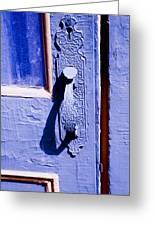 Ornate Door Handle Greeting Card