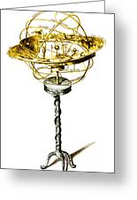 Orrery Illustration Greeting Card by Science Source
