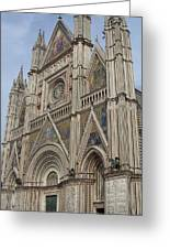 Orvieto Cathedral Greeting Card