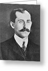 Orville Wright, Us Aviaton Pioneer Greeting Card