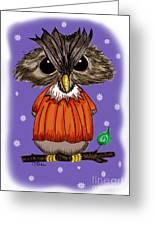 Oscar Owl Greeting Card