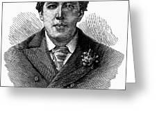 Oscar Wilde (1854-1900) Greeting Card