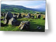 Ossians Grave, Co Antrim, Ireland Stone Greeting Card
