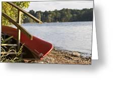 Otsego Lake Greeting Card
