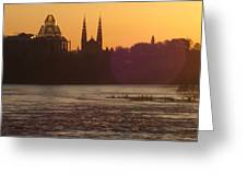 Ottawa By Night 5 Greeting Card
