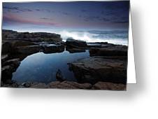 Otter Point Reflections II Greeting Card