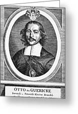 Otto Von Guericke (1602-1686) Greeting Card