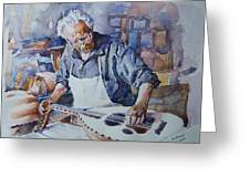 Oud Maker Greeting Card
