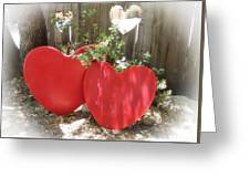 Our Fence Greeting Card