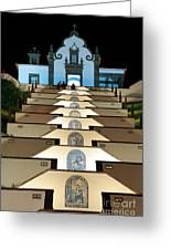 Our Lady Of Peace Chapel  Greeting Card