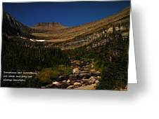 Our Mountains Greeting Card
