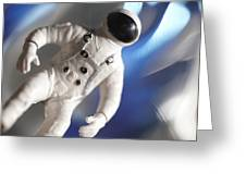 Out In Space Greeting Card by Greg Kopriva