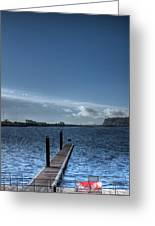 Out Into The Bay Greeting Card