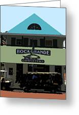 Outfitters Boca Grande Style Greeting Card