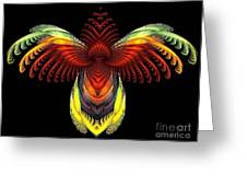 Outstreched Wings Greeting Card