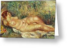 Outstretched Nude Greeting Card