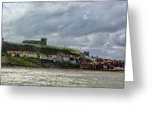 Over Looking Whitby Greeting Card