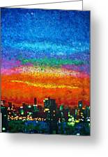 Over The Bay 17 45 Greeting Card