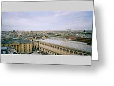 Looking Over Paris Greeting Card