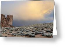 Over The Sagebrush Greeting Card