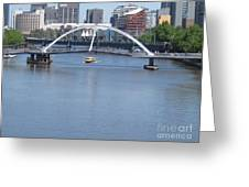 Over The Yarra Greeting Card