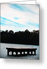 Over Water Greeting Card