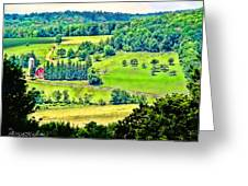 Over Yonder Greeting Card
