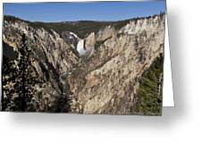 Overlook Falls Greeting Card