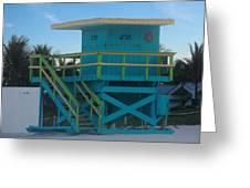 Overlook The Beach Greeting Card