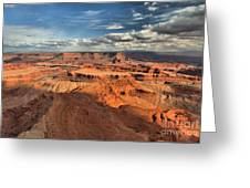 Overlooking Dead Horse Point Greeting Card