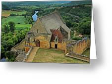 Overlooking The French Countryside Greeting Card