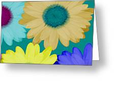 Oversize Daisies Greeting Card