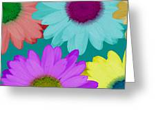 Oversize Daisies Two Greeting Card