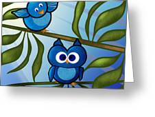 Owl Pal Greeting Card by Melisa Meyers