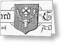 Oxford: Coat Of Arms Greeting Card