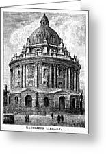 Oxford: Radcliffe Library Greeting Card