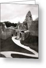 Oystermouth Castle Greeting Card