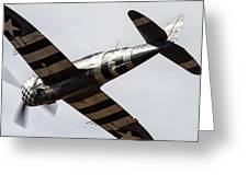 P47 Thunderbolt Snafu #5 Greeting Card